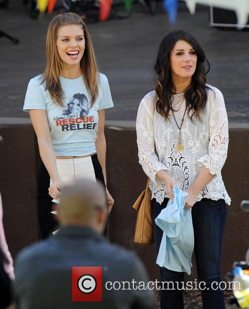 Annalynne Mccord and Shenae Grimes 4