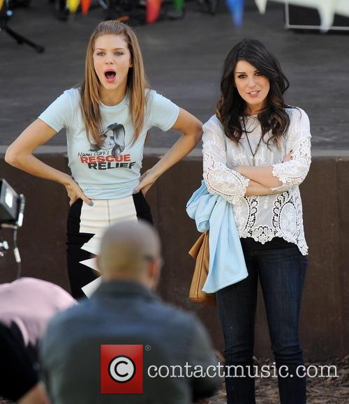 Annalynne Mccord and Shenae Grimes 8