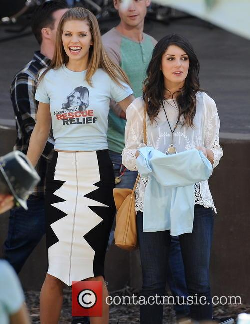 AnnaLynne McCord and Shenae Grimes 12