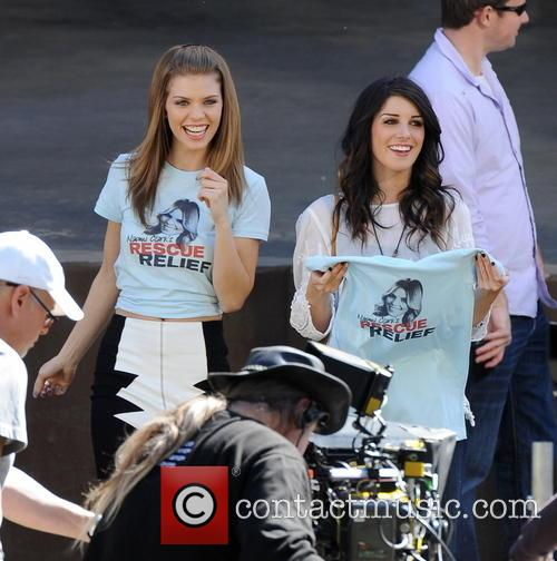 AnnaLynne McCord and Shenae Grimes 17
