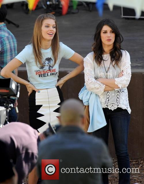 AnnaLynne McCord and Shenae Grimes 1