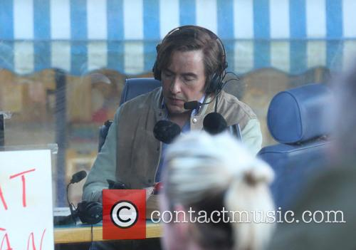 'Alan Partridge: The Movie' filming