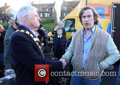 Steve Coogan, Mayor Of Sheringham and David Gooch 2