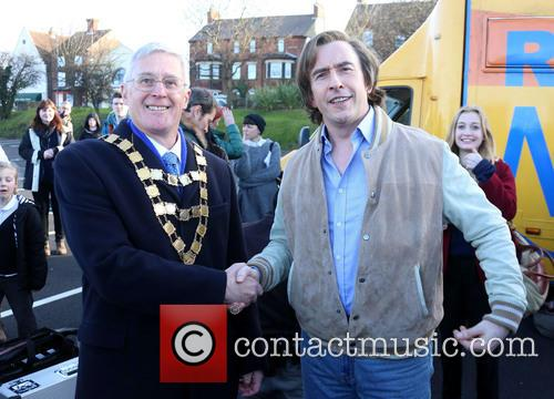 Steve Coogan, Mayor Of Sheringham and David Gooch 5