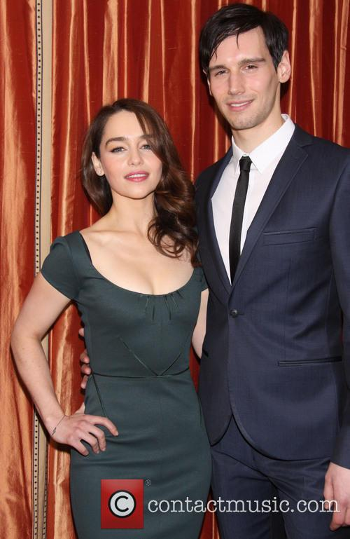 Emilia Clarke and Corey Michael Smith 3