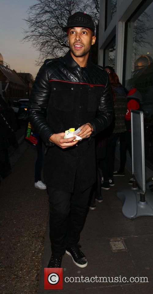 marvin humes celebrity juice arrivals 3530983