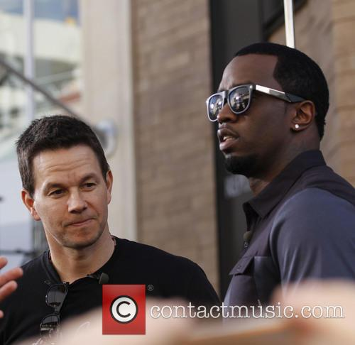 Sean 'diddy' Combs and Mark Wahlberg 4