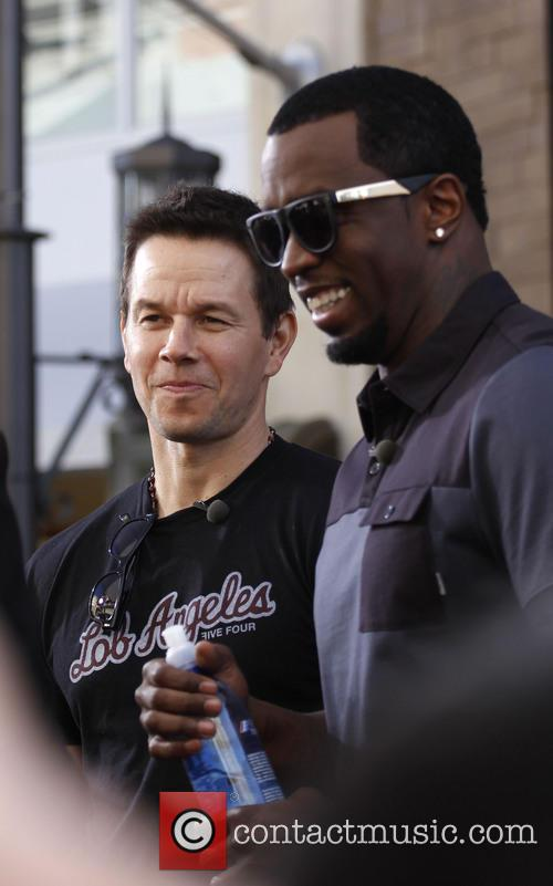 Sean 'diddy' Combs and Mark Wahlberg 8