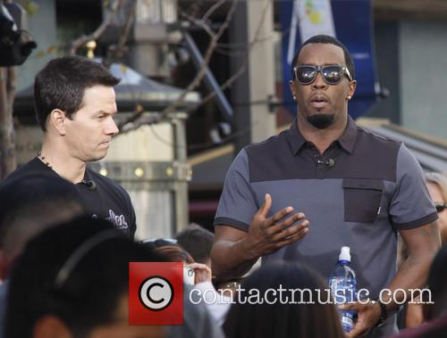 Sean 'diddy' Combs and Mark Wahlberg 9