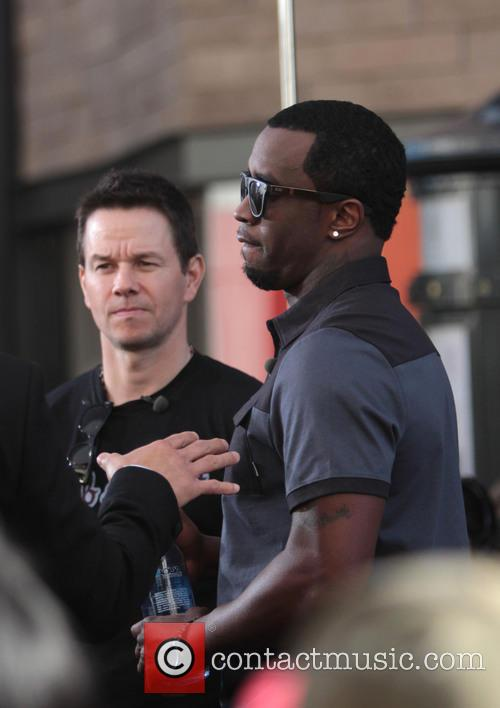Mark Wahlberg and Sean 'diddy' Combs 6