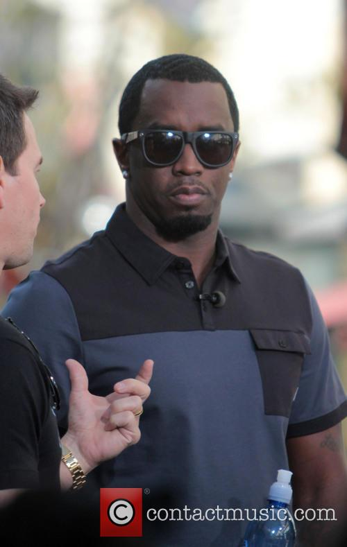 sean 'diddy' combs celebrities at the grove 3531744