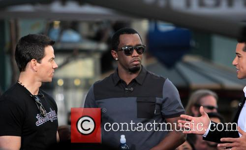 Sean 'diddy' Combs, Mark Wahlberg and Mario Lopez 3