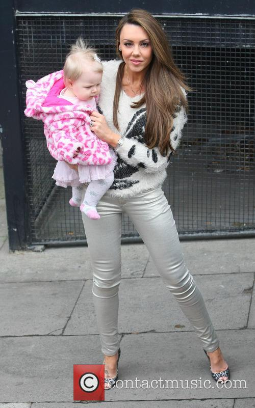 Michelle Heaton and daughter Faith Hanley 2