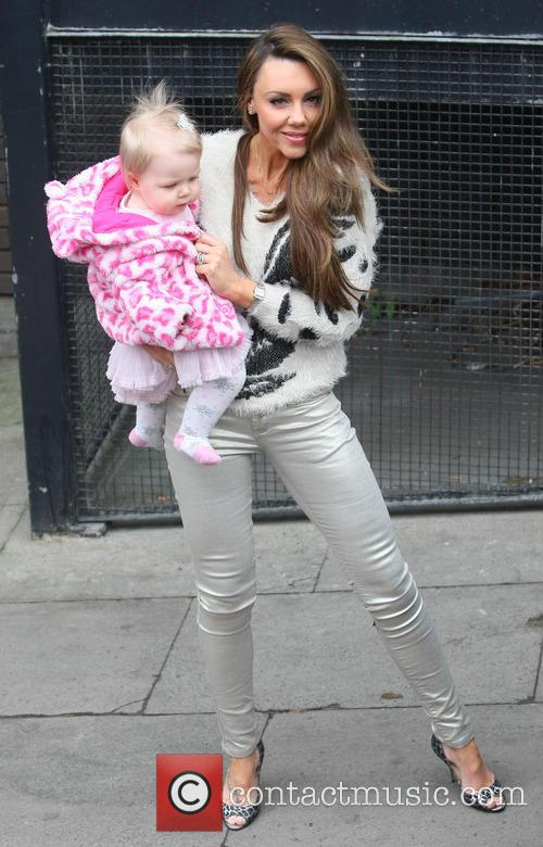 Michelle Heaton and daughter Faith Hanley 3