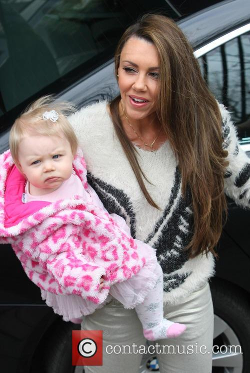 Michelle Heaton and daughter Faith Hanley 1