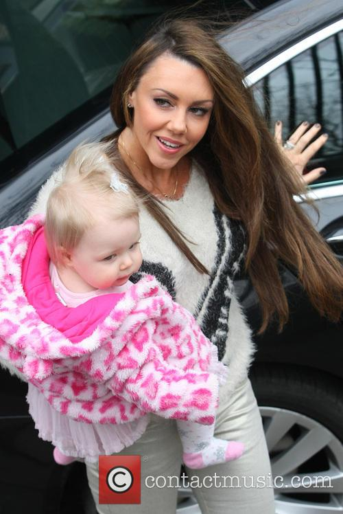 Michelle Heaton and daughter Faith Hanley 4