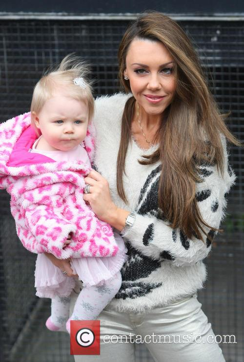 Michelle Heaton, daughter Faith Hanley