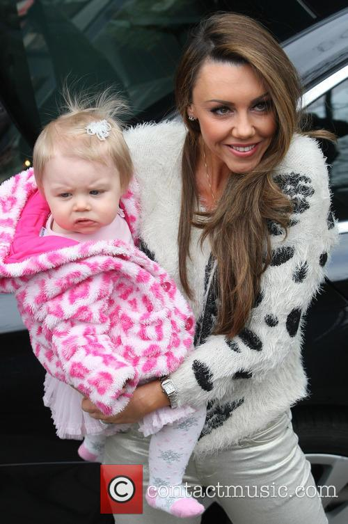 Michelle Heaton and daughter Faith Hanley 7