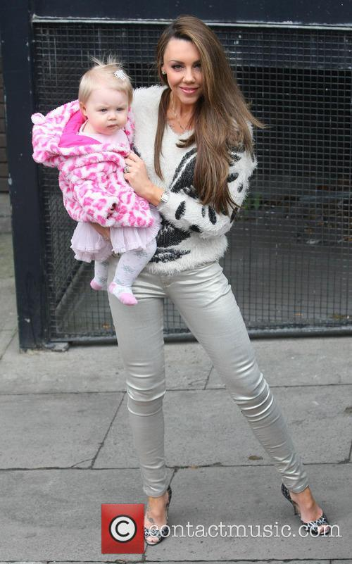 Michelle Heaton and daughter Faith Hanley 8