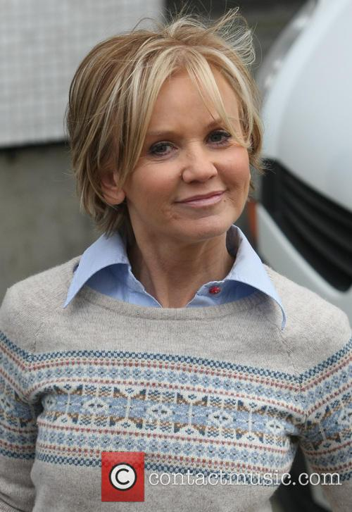 lisa maxwell celebrities at the itv studios 3531216