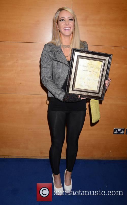 Jenna Marbles gets the James Joyce Award from...
