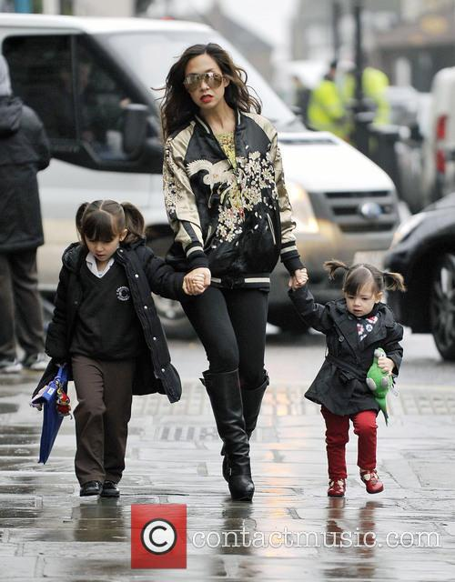 Myleene Klass, Hero Quinn and Ava Quinn 2
