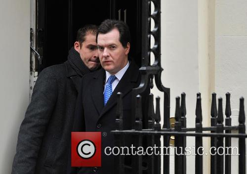 David Cameron and Chancellor George Osborne 8