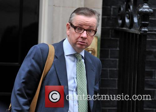 David Cameron and Education Secretary Michael Gove 9
