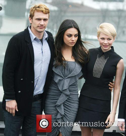 James Franco, Mila Kunis and Michelle Williams 2