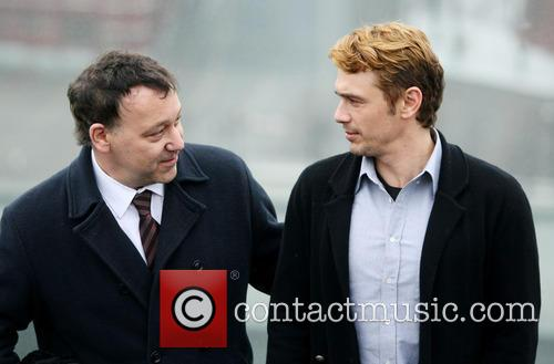 Sam Raimi and James Franco 4
