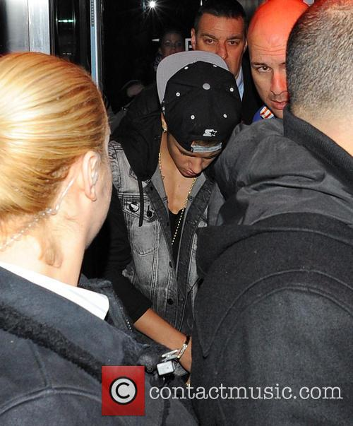 Justin Bieber Nightclubbing In London