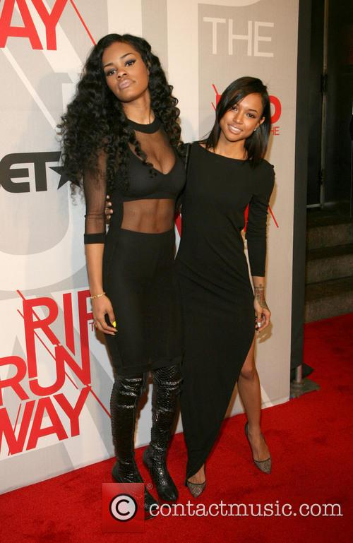 Teyana Taylor and Karrueche Tran 2