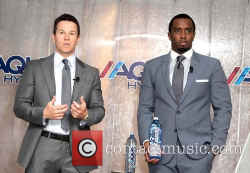 Mark Wahlberg and Sean Combs - Sean 'Diddy' Combs and Mark Wahlberg Host Press Conference To Announce Their Newest Venture Water Brand AQUAhydrate - Los Angeles, CA, United States