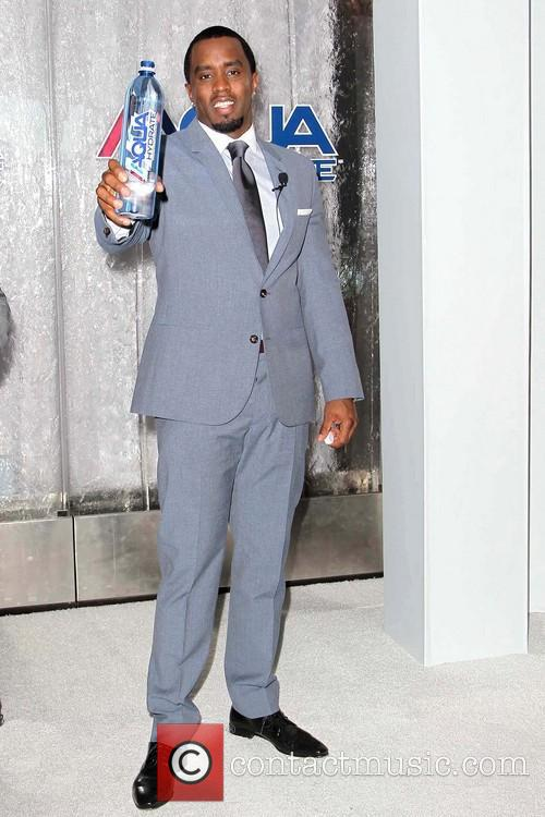 Sean 'Diddy' Combs and Mark Wahlberg promote AQUAhydrate