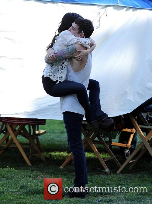 Shenae Grimes and Josh Beech 6