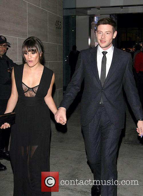 Cory Monteith and Lea Michele 2