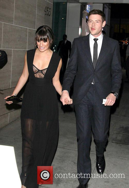 Cory Monteith and Lea Michele 3