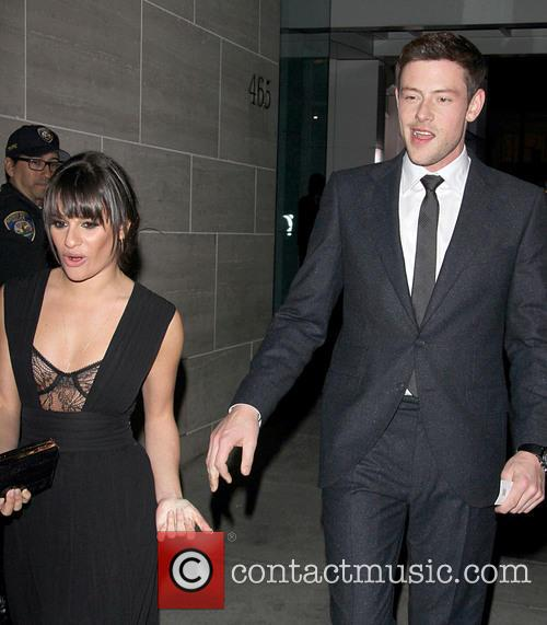 Cory Monteith and Lea Michele 4