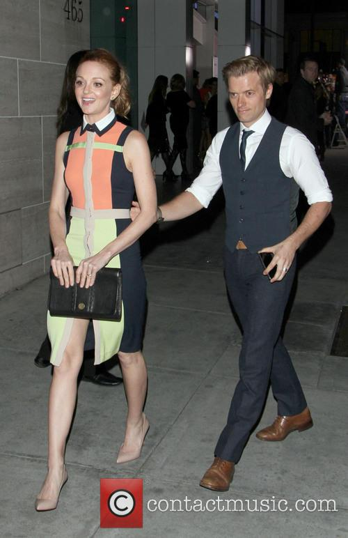 Jayma Mays and Adam Campbell 2