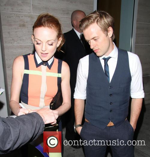 Jayma Mays and Adam Campbell 4