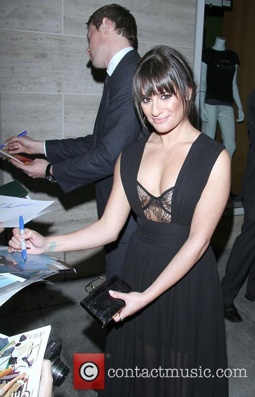 lea michele celebrities at the paley center 3532336