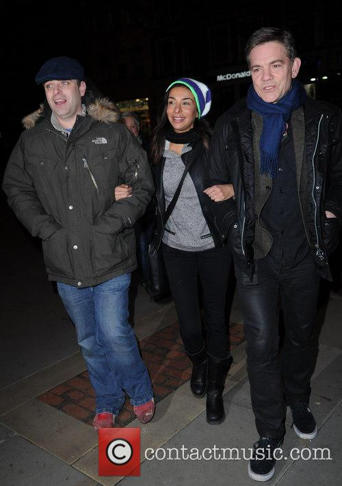 Simon Gregson, Shobna Gulati and John Michie 1