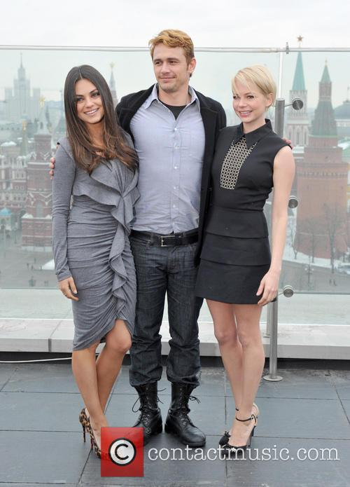 Mila Kunis, James Franco and Michelle Williams 2