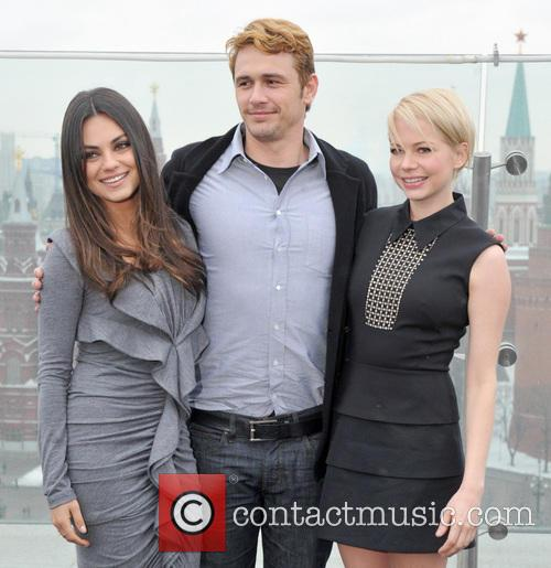Mila Kunis, James Franco and Michelle Williams 3