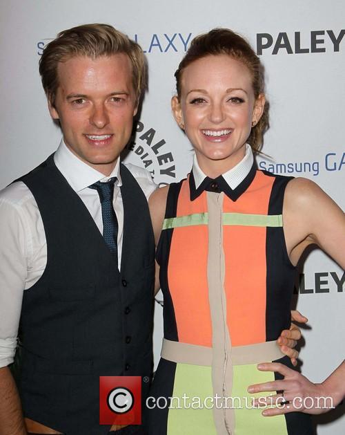 Jayma Mays and Adam Campbell 3