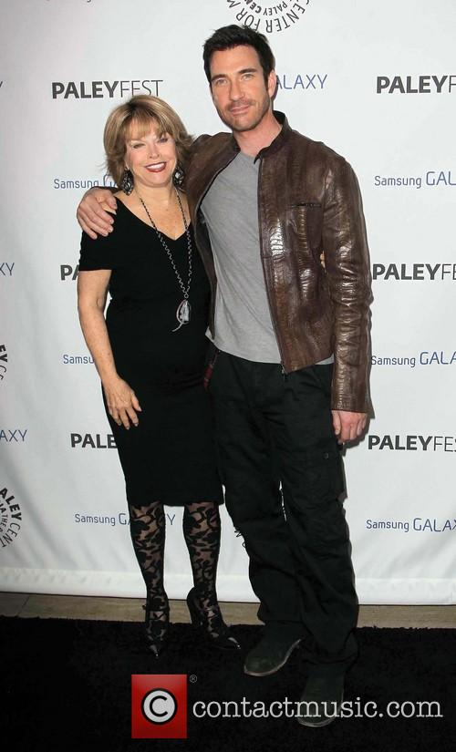 Pat Mitchell and Dylan Mcdermott 2