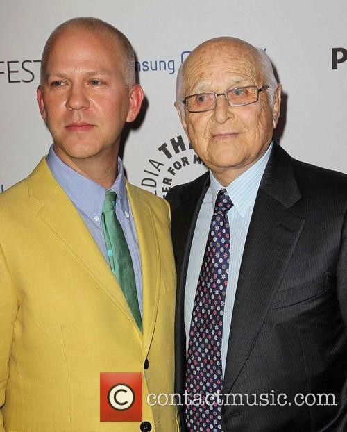 Ryan Murphy and Norman Lear 2
