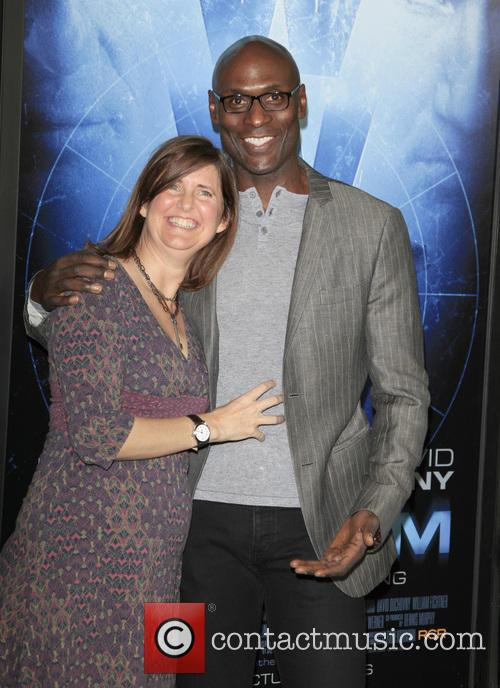 Lance Reddick and Wife Stephanie 2