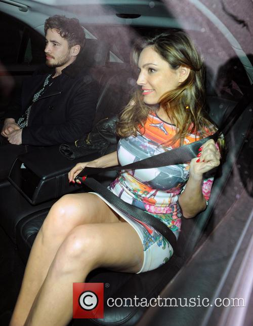 Kelly Brook and Danny Cipriani 5