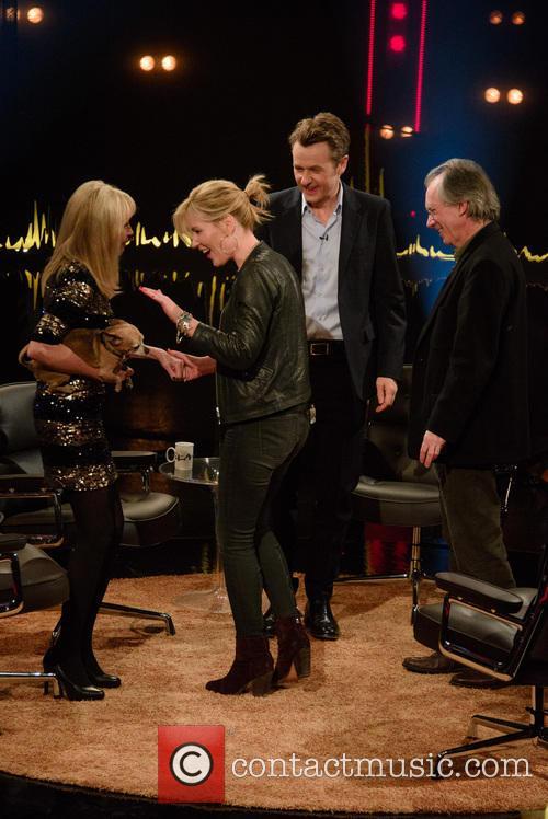 Britt Ekland, Dido and Fredrik Skavlan 5